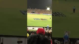When Dhoni Hits a Six it's outside Stadium IPL Match CSK VS DD 30 April 2018