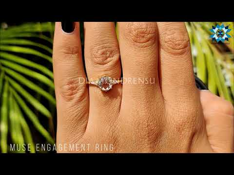 1.33-tcw-round-rose-cut-and-round-colorless-moissanite-muse-engagement-ring-|-unique-wedding-ring