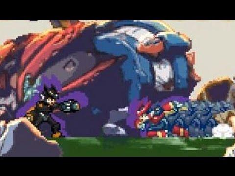 rockman zero3 black zero vs omega zero youtube