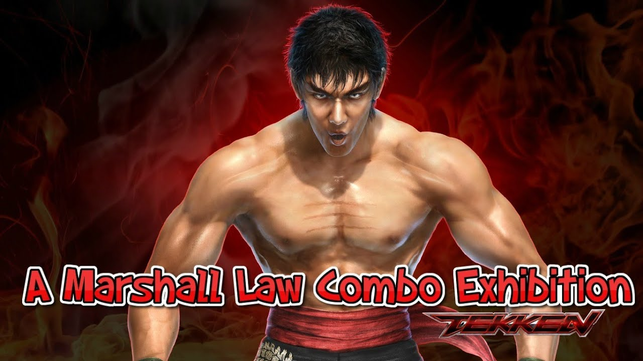 Tekken Tag Tournament 2 Marshall Law Combo Exhibition