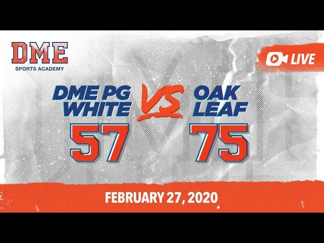 DME PG White vs Oak Leaf