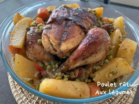 recette-de-poulet-rôti-aux-légumes