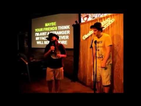 Soggy Bottom Boys-I am a man of constant sorrow Karaoke Cover 5-21-2013 at Peppers Ft