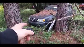 Audi 200 20V turbo insane barn find collection