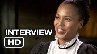 django unchained kerry washington interview 2012 quentin tarantino movie hd
