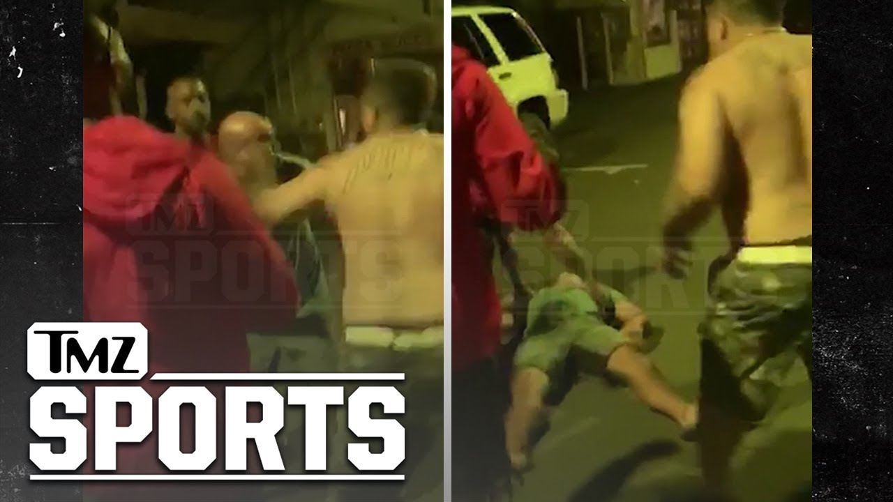 Knocked Out In Hawaii Street Fight