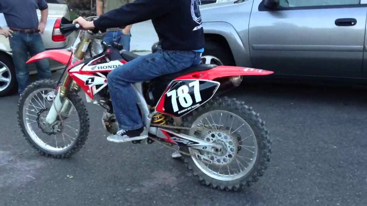 Honda Crf 450 R Big Bore 490cc Full Fmf Exhaust Race Full Only