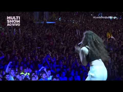 Lorde - Hold my Liquor (Kanye West cover) Lollapalooza Brazil 2014