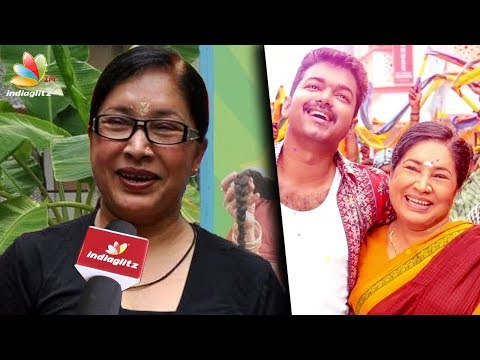 Thumbnail: Vijay is very sincere, it was jolly during shoot : Kovai Sarala Interview | Mersal, Atlee