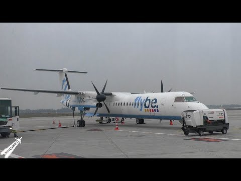 BE7211 Full Flight | MAN-DUS | Flybe Bombardier Dash 8 Q400
