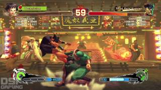 Ultra SF4 Weekly: July 20, 2014 MP gameplay pt1