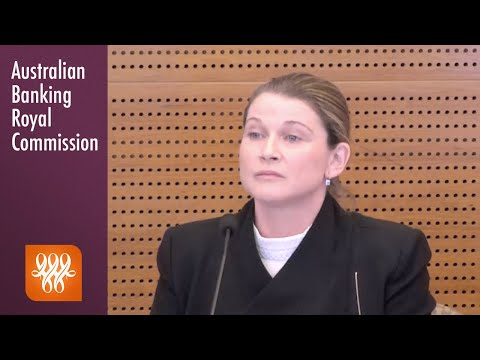 Bankwest's Head Of Business Banking Amends Her Statement At The Banking Royal Commission
