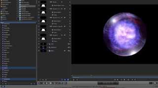 Apple Motion 5: Cosmic Energy Orb Tutorial Part 1