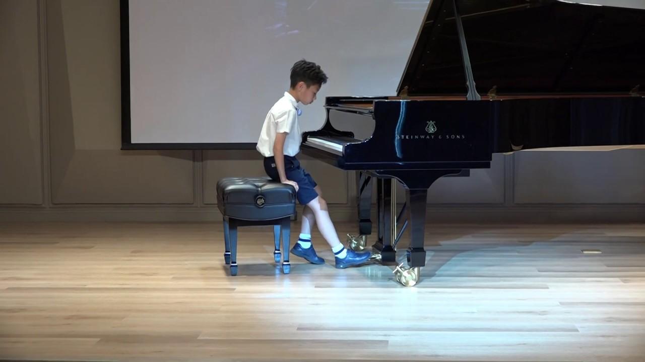 2020李斯特(布達佩斯)鋼琴弦樂國際公開賽(台灣初賽) Wang,Hao Wei 榮獲兒童A組 銀獎