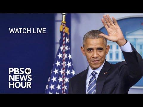 WATCH LIVE: President Obama's Final Press...