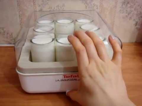 Приготовление домашнего йогурта