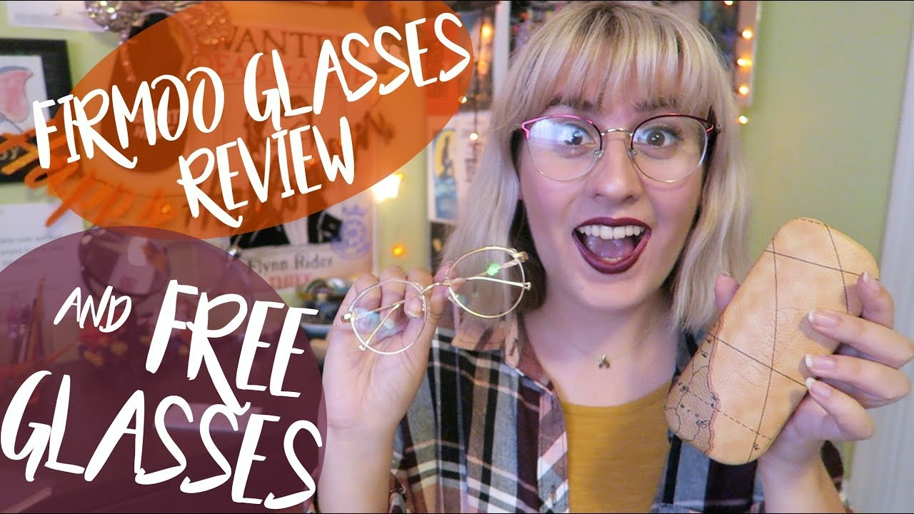 c0911a0d2cb New Glasses! Firmoo Review   get a FREE pair!! - YouTube