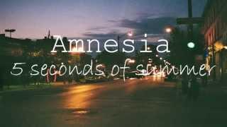amnesia 5sos studio version espaol ingls
