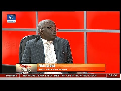 IGP Wrong Person To Summon Over Killings In Nigeria - Falana Pt 1   Sunrise Daily  
