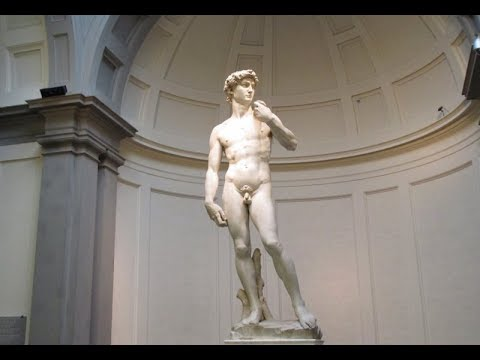 The Art of Michelangelo & The Uffizi Gallery in Florence, Italy