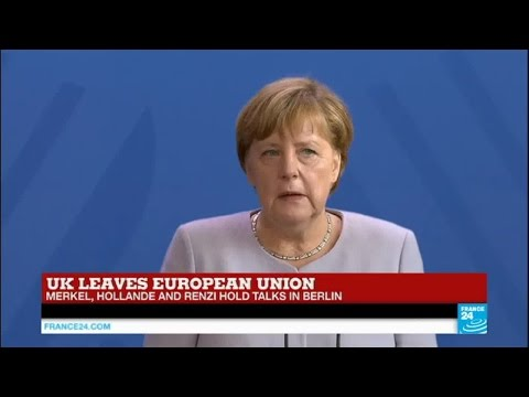 "Angela Merkel on Brexit: ""we the EU remain one of the strongest economic area in the world"""