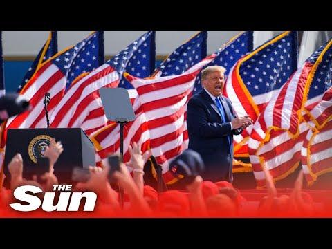 Live: Donald Trump holds MAGA rally at Ocala, Florida