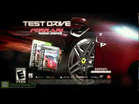 Test Drive Ferrari: Racing Legends - Pre-Launch Trailer (2012) | HD