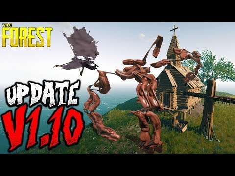 The Forest | UPDATE V1.10 | NEW MUTANTS | NEW WEAPON | NEW STRUCTURES