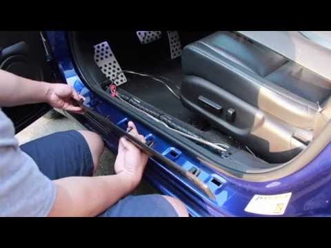Custom Illuminated Acura TSX Door Sills (DIY)