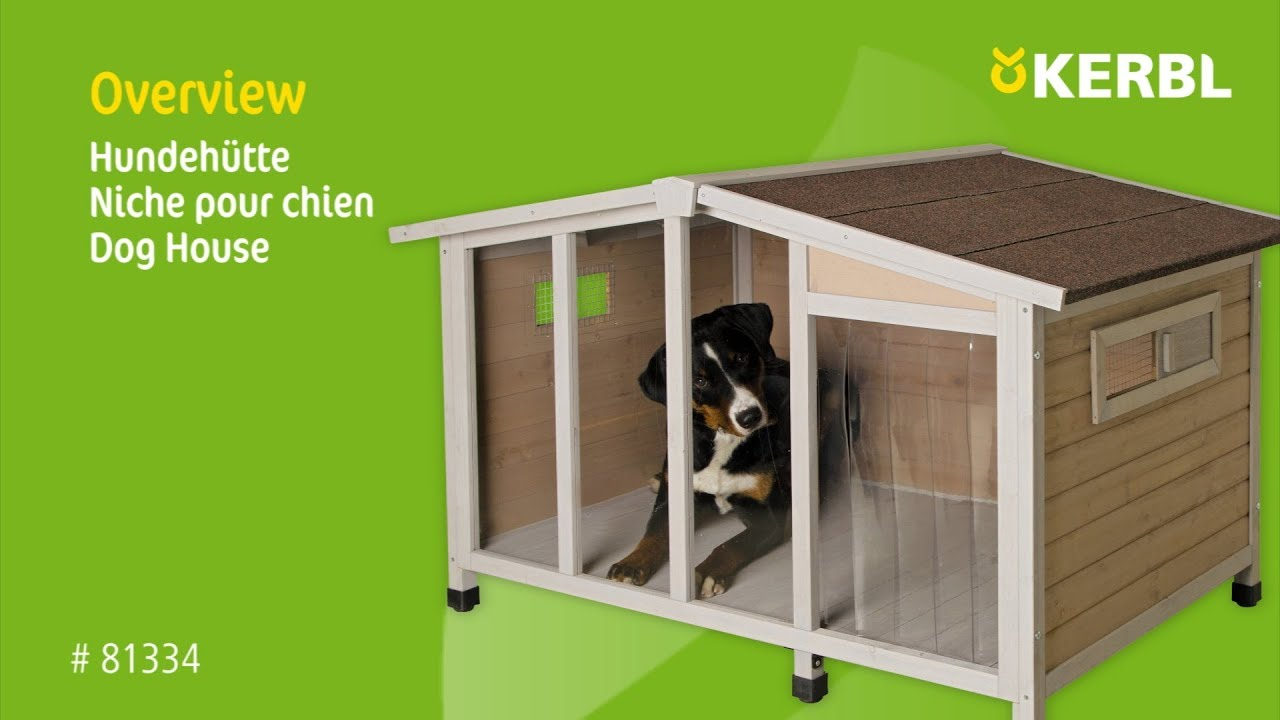 Genial Hundehütte Aus Paletten Dekoration Von Dog E Overview - Assembly Instruction