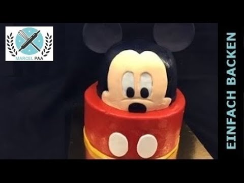 3d mickey mouse torte cake youtube. Black Bedroom Furniture Sets. Home Design Ideas
