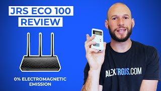 JRS Eco 100 Low-Radiation Wireless Router: Game-Changer To Lower EMF Exposure Up To 10x