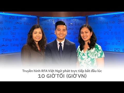 Truyền hình [trực tiếp] 26.05.2017 | RFA Vietnamese News