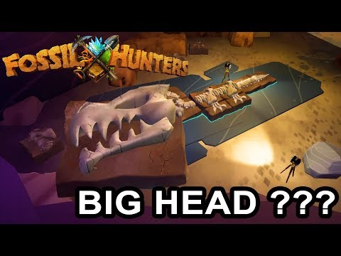 Fossil Hunters Gameplay Part 1 - Mysterious Fossil - WHERE IS BIG HEAD???