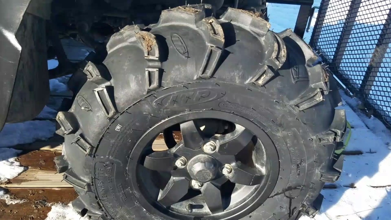 Itp Mud Lite Xl Tires For The Brute Force And Short Review