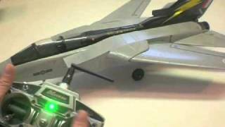 Exceed F-3 Fighter Jet Build Video by Jeff Part Two