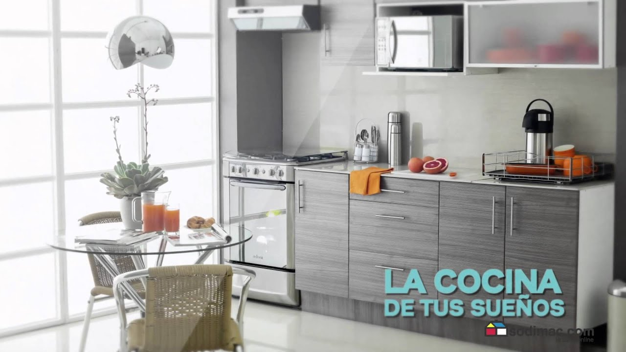 Sodimac cocina youtube for Comedor de diario sodimac