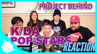 K/DA - POP/STARS - Project Behind REACTION: League of Legends World Championship 2018