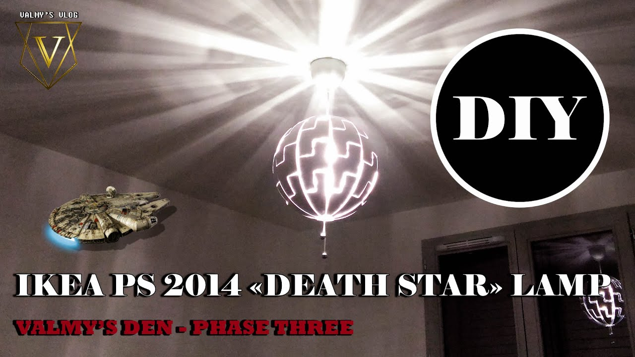 Ikea Ps 2014 Death Star Lamp Unboxing Valmy S Vlog 27 Youtube