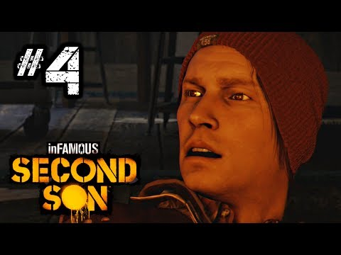 inFAMOUS Second Son Gameplay Walkthrough Part 4 - Mission: Welcome to Seattle [HD] 1080p