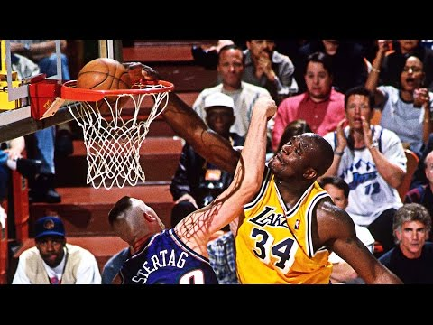 Shaquille O'Neal Lakers Mixtape!