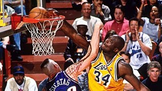 Repeat youtube video Shaquille O'Neal Lakers Mixtape! Hall Of Famer Gets Statue At Staples