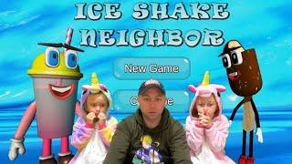 Ice Shake Neighbor - Прохождение 😱 Привет Сосед но с Шейком и мороженым! Секретная концовка.