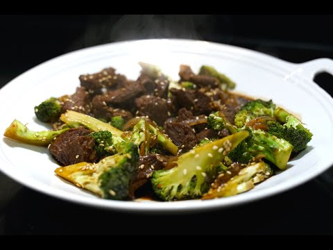 How to Make Beef Broccoli - Beef Oyster Sauce - Youtube