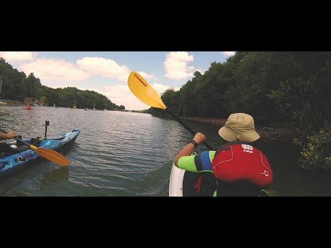 Kayaking Rudyard Lake On A Galaxy Sturgeon And Wave Sport  Ethos 10