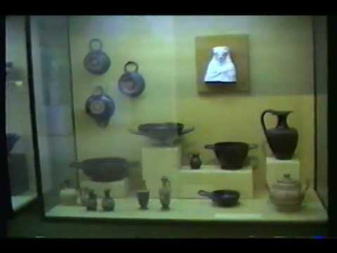 Thessaloniki Museum in Greece.wmv