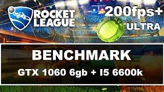 [ULTRA] Rocket League Benchmark - i5 6600K / GTX 1060 6GB / 200fps+