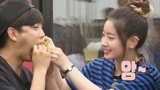 Baixar TWICE Dahyun feeds Kim Min Seok so shy @꽃놀이패 2회 20160716