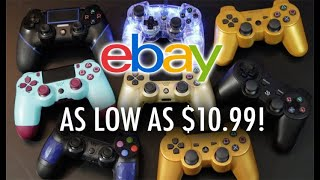 Buying Cheap PS4/PS3 Controllers From eBay - Are They Worth It?