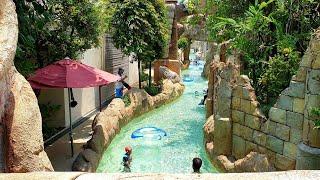 Adventure River at Adventure Cove Water Park Singapore Full Lazy River Tour Resorts World Sentosa 19